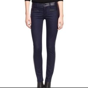 Tory Burch Harlow Jeans Leather 24